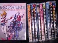 I have a set of 13 volumes - the complete Robotech,