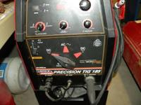 I have an all new lincoln tig welder, Panasonic mig