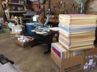 SCREENPRINTING SUPPLIES Need gone ASAP! I have a whole