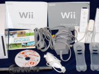 White Wii console that can play Wii games or Game Cube