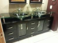Hi. I'm selling my double sink vanity. All-time low is