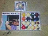 I have a complete set of barely use sportcraft billiard