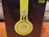 I have a set of Beats by Dre MIXR Limited Edition Neon