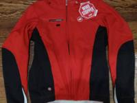 I acquired this sweet Castelli wintertime biking jacket