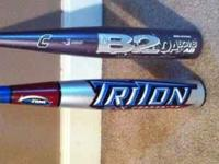 I have two bats for sale for $85.00 each or $150.00 for