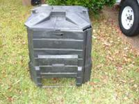 Compost made by Soil Saver. Black Plastic with Lock On
