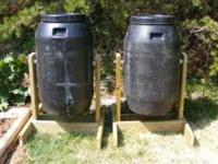 My composters are made from food grade plastic 60
