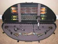 Clearwater Power Mag compound bow, with release, 13