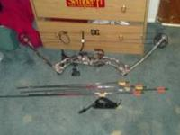 2011 brand new Martin threshold compound bow with