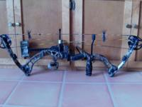 FOR SALE IS A 2010 MARTIN WARTHOG BOW. IT IS A 45-60 lb