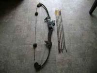 This is a great old Fred Bear Compound bow in excellent