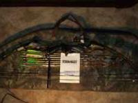 Robin Hood compound bow like new cond. complete with