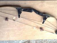 3 older compound bows. The Limbs have been changed out,