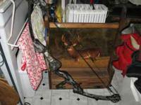 We have 2 compound bows for sale. Come see them at the