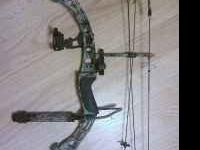 up for sale is a Diamond The Rock Compound bow. i have