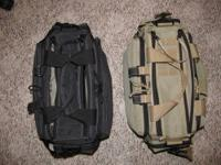 Maxpedition multipurpose bag. One black. Very good
