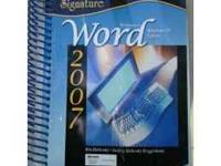 Text book on microsoft words 2007. Call  Will deliver