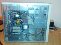I have a computer case with a motherboard still
