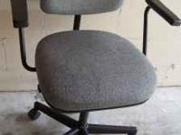 This a High-Back Secretary Chair w/Pneumatic Lift in