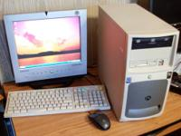 Gateway Desktop 500se With LCD Monitor (Samsung sync