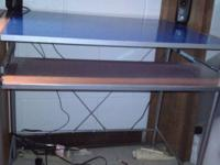 Good condition computer desk for sale. ask for 10