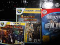 We have several computer games all are hidden