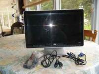 HP 2009 flat screen computer monitor only 2-3 months