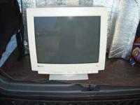 I have a good working 18 inch Gateway computer monitor