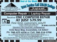 J-Mac Computer Repairs is a complete service computer