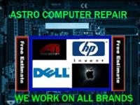 ASTRO TV AND COMPUTER REPAIR SHOP WE ARE LOCATED 2950