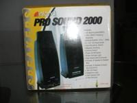 NEW IN THE BOX INLAND PRO SOUND 2000