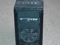 Huge computer tower for video gaming or video or