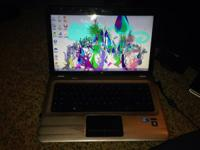 Hp Pavilion dv6 laptop wear and tear works great- 400