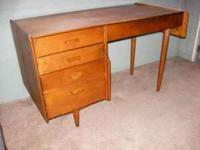 Signed Conant Ball Furniture Manufacturers Desk /