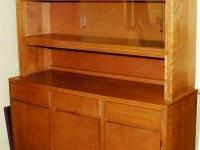 This hutch was made in the late 1940s by Conant Ball.