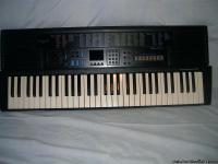 This is a Concertmate 1100 keyboard. It is 36in. long