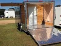 8.5x20TA BBQ Trailer New with warranty Wired and ready