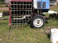 Concrete Mixer - $500 Engine works and runs great! If