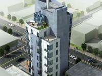 10 Stories Of Double Height (15' Ceiling) Luxury Units;