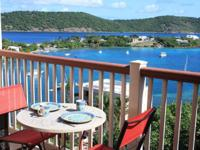 THE US VIRGIN ISLANDS.. Freedom, the bucolic scenery,
