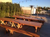 BEAUTFUL WOODEN PATIO FURNITURE  MAKE YOUR PATIO LOOK