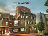 NEW CONDO FOR SALE DOWNTOWN MONTREAL - The St-Dominique