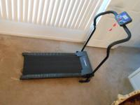 THIS TREADMILL IS NEW, PURCHASED FOR SENIOR WIFE, CAN