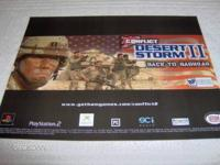 Conflict: Desert Storm II Back to Baghdad Promotional