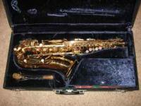 For Sale Conn Alto Saxaphone.This saxaphone is about 20