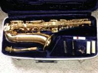 For Sale:  Conn alto Saxophone for $200  Great