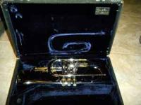 My first love. This is a solid marching horn! Large