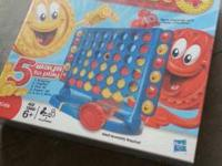 Brand new game of Connect 4. Never been opened!