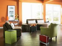 The casual Connection Sleeper sofa, chair & ottoman