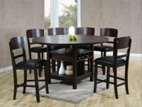 Today's price: $698.00   Description:  Table & 4 Chairs